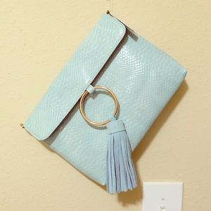Brand New Anthropologie ring clutch